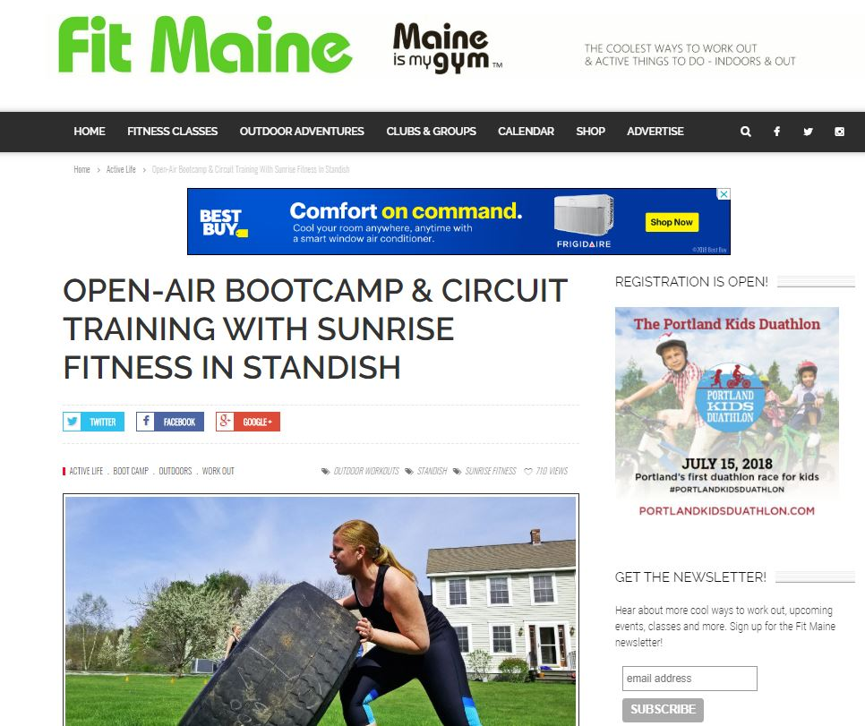 fit maine